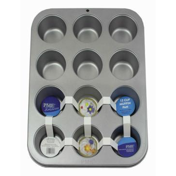 Forma anti-aderente 12 Cupcakes- PME