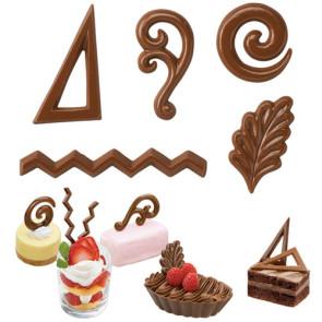 Moldes de Sobremesas para Chocolate