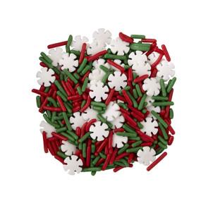Confetis Flocos de Neve Natal 110g - Wilton