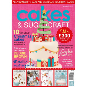 Revista Cakes and Sugarcraft da Squires Kitchen nº131