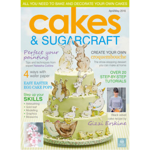 Revista Cakes and Sugarcraft da Squires Kitchen nº133