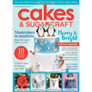 Revista Cakes and Sugarcraft da Squires Kitchen nº137