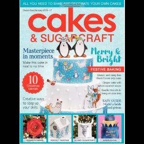 Revista Cakes and Sugarcraft da Squires Kitchen nº137