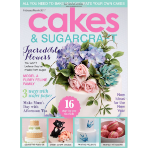 Revista Cakes and Sugarcraft da Squires Kitchen nº138