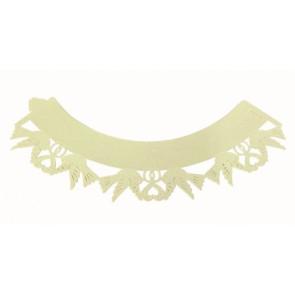 Capas para CupCakes Pomba Branca - Conj. de 12