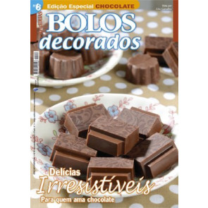 "Revista ""Bolos Decorados"" Especial Chocolate nº6"