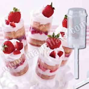Push Up Cake Pops - Conjunto 6 unidades