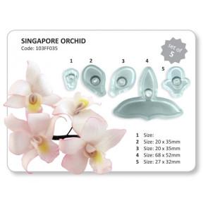 Cortador Orquídea Singapura