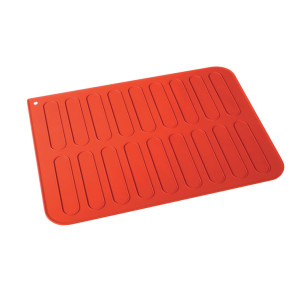 Tapete silicone para 18 eclairs