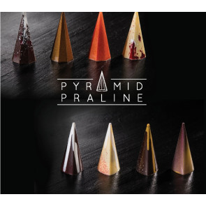 Molde Policarbonato Pirâmide Triangular- Martellato