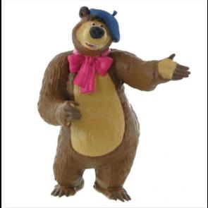 Boneco Urso Pintor - Masha e Urso
