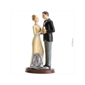 Noivos Bodas de Prata 25 anos - Dekora