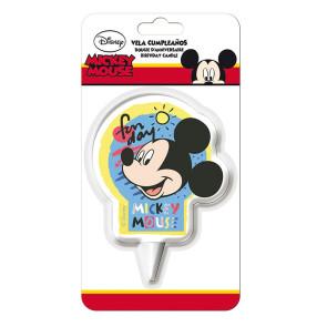 Vela Mickey 2D - Dekora