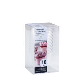 Caixa Sobremesa sem tampa - Conj 18
