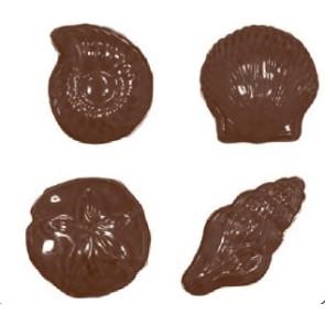 Molde de Conchas para Chocolate