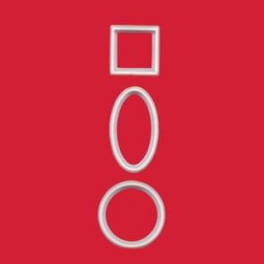 Cortador Geométrico - Conj. de 10