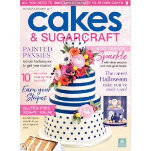 Revista Cakes and Sugarcraft da Squires Kitchen nº142
