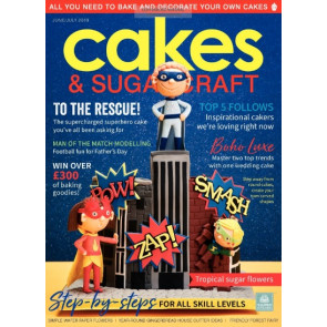 Revista Cakes and Sugarcraft da Squires Kitchen nº146