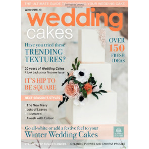 Revista Wedding Cakes Inverno 2018- Squires Kitchen nº69