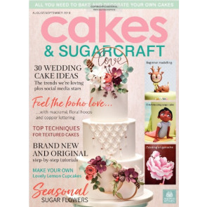 Revista Cakes and Sugarcraft da Squires Kitchen nº147