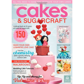 Revista Cakes and Sugarcraft da Squires Kitchen nº150
