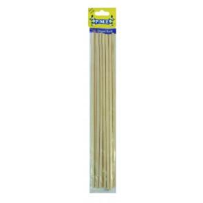 Paus de Bambu - Conj. de 12