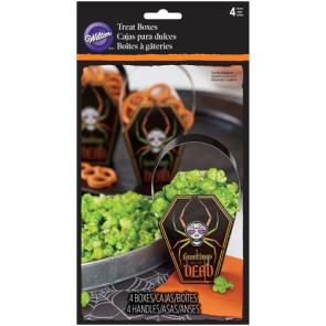 Caixa para Doces Halloween - Conj. de 4