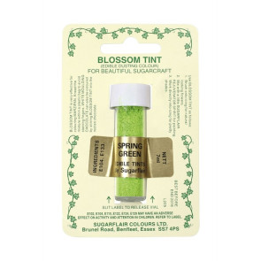 Pó Comestível Verde Primavera Claro (Blossom Tint Dusting Spring Green)