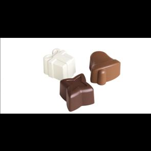 Moldes de Silicone Natalício para Chocolate