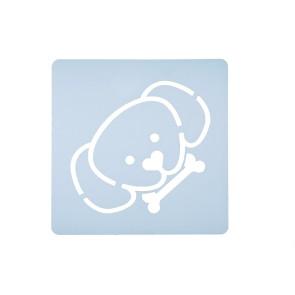 Stencil Cabeça de Cão