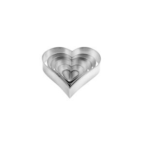 Cortador Coração - Conj. de 6