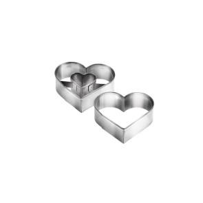 Cortador Coração - Conj. de 2