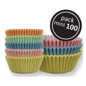 Tacinhas de Bombons Cor Pastel - Conj. de 100