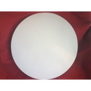 Prato branco redondo liso 32cm