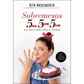 "Livro ""Sobremesas 5-5-5"""