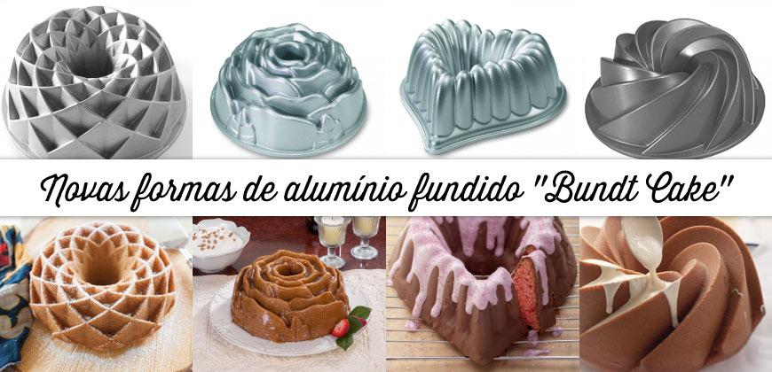 Formas Alumínio Fundido Bundt Cake